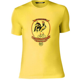 Mavic French Brand Kortærmet cykeltrøje Herrer gul